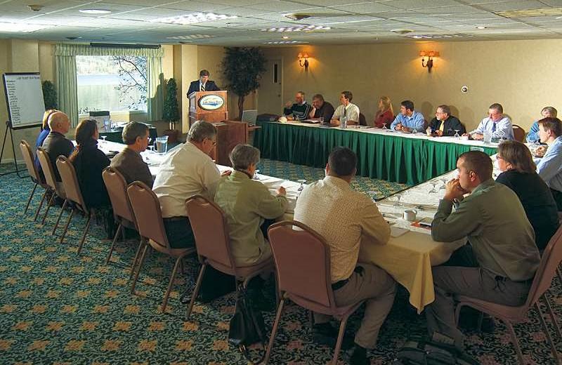 Meeting at Lake Morey Resort.