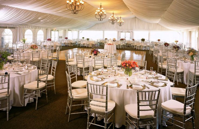 Wedding reception at Eaglewood Resort & Spa.