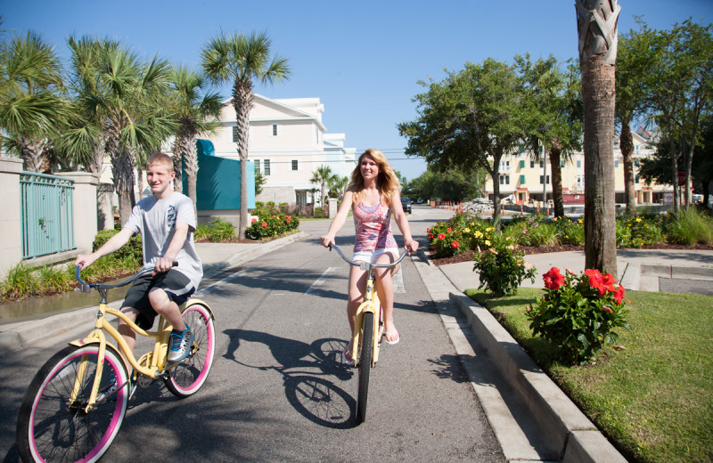 Biking at Sands Resorts.