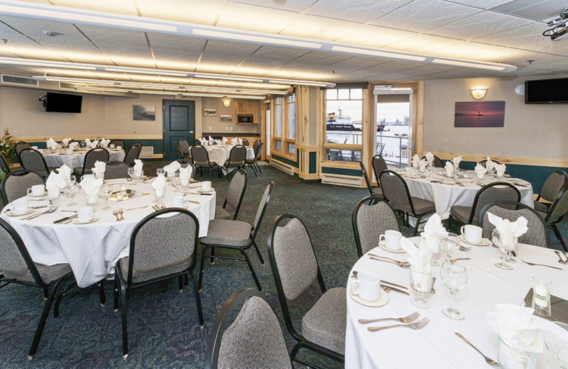 Lake Superior Conference Room: banquet set up