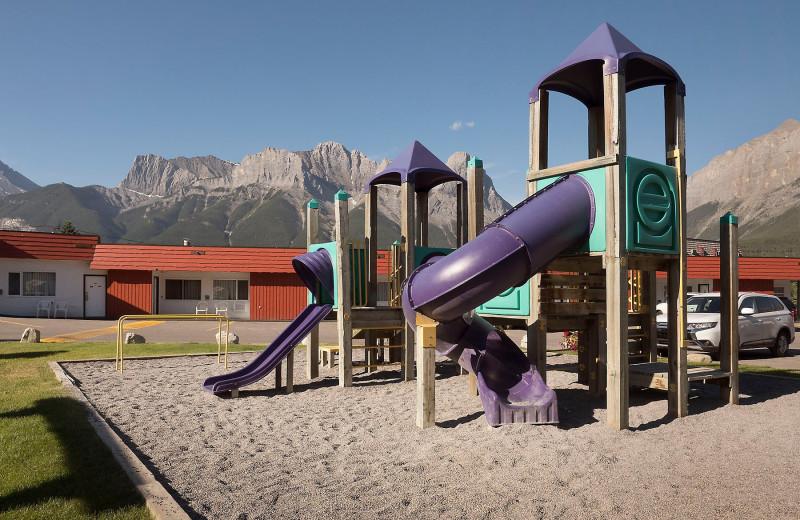 Playground at Rocky Mountain Ski Lodge.