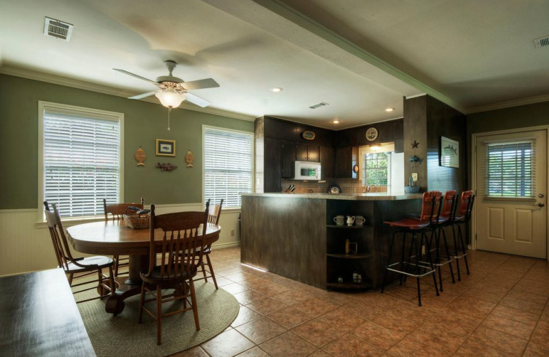 Kitchen at Eastbank River Respite.