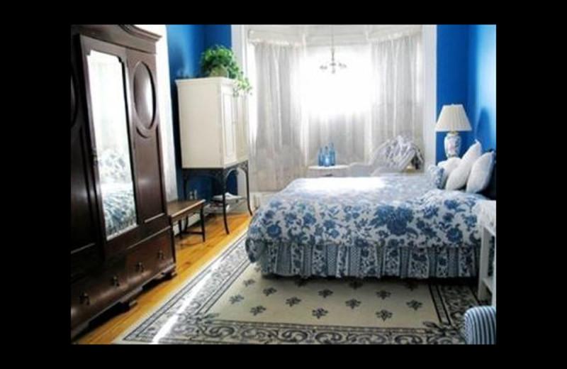 Guest room at Casa Benavides Bed & Breakfast.