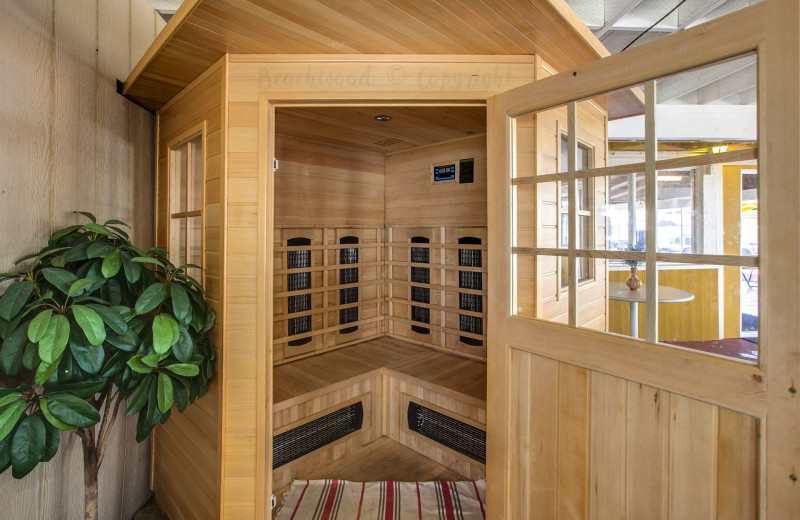 Sauna at Beachwood Resort Condos.