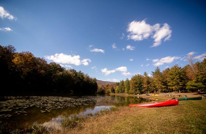 Canoeing at Montfair Resort Farm