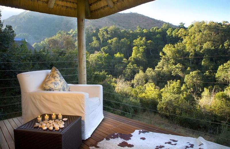 View from The Cavern Drakensberg Resort.