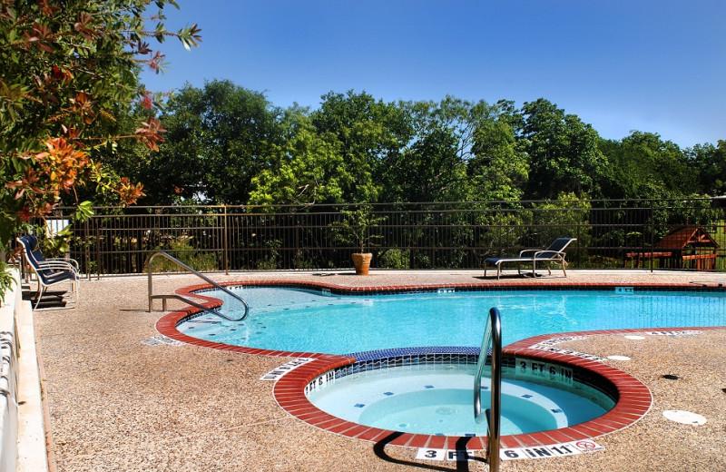 Outdoor pool at Inn on Barons Creek.