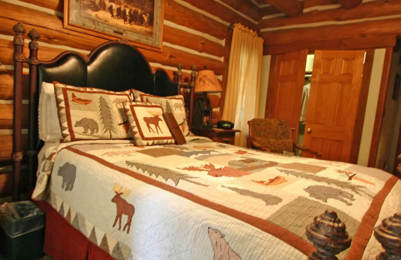 Guest room at Wilberry Lodge.
