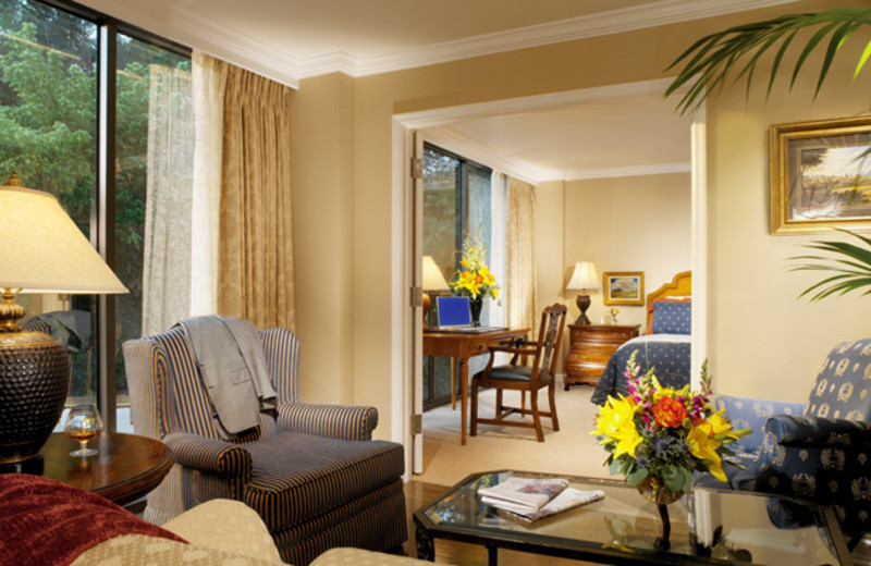 Guest Suite at The Houstonian Hotel, Club & Spa