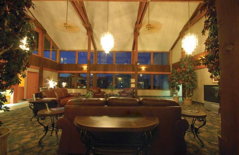 Lobby view at Shilo Inn The Dalles.