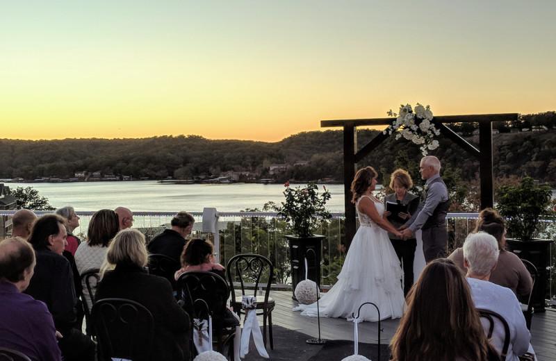 Weddings at Lake Breeze Resort.