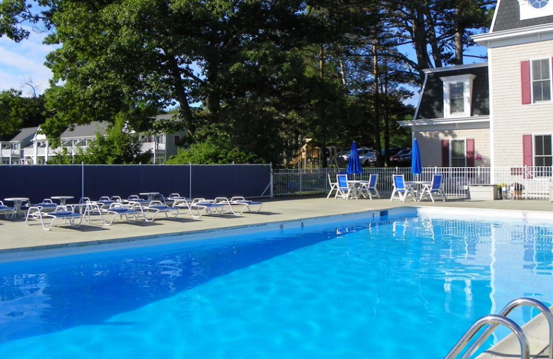 Pool at Bar Harbor Inn & Spa.