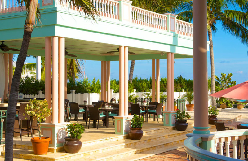 Patio at The Southernmost House.