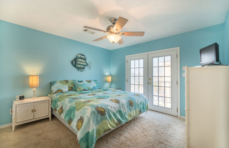 Rental bedroom at Ryson Vacation Rentals.