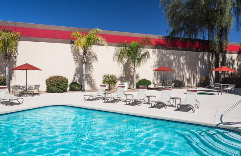 Outdoor pool at Fairfield Inn Phoenix North.