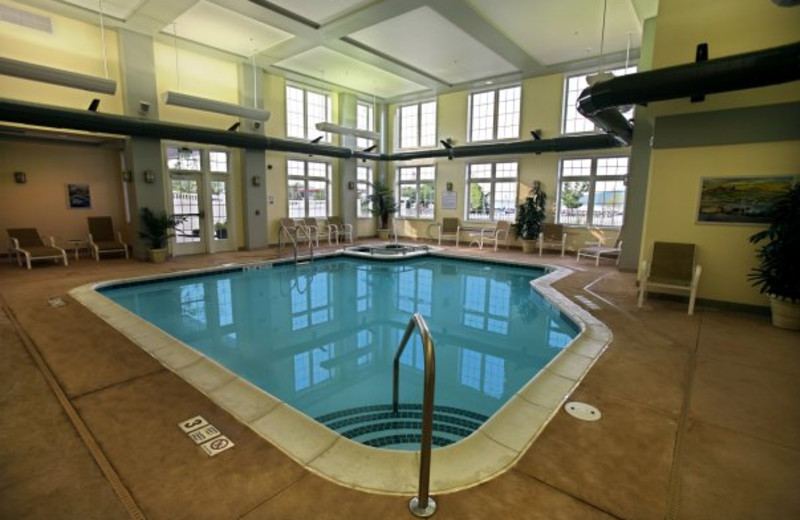 Indoor Pool at Harbor Hotel