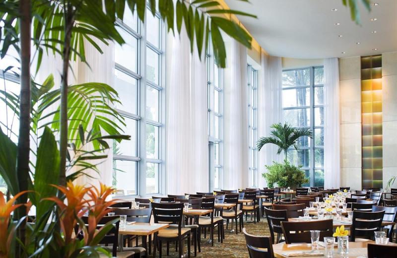 Dining at The Westin Diplomat Resort.