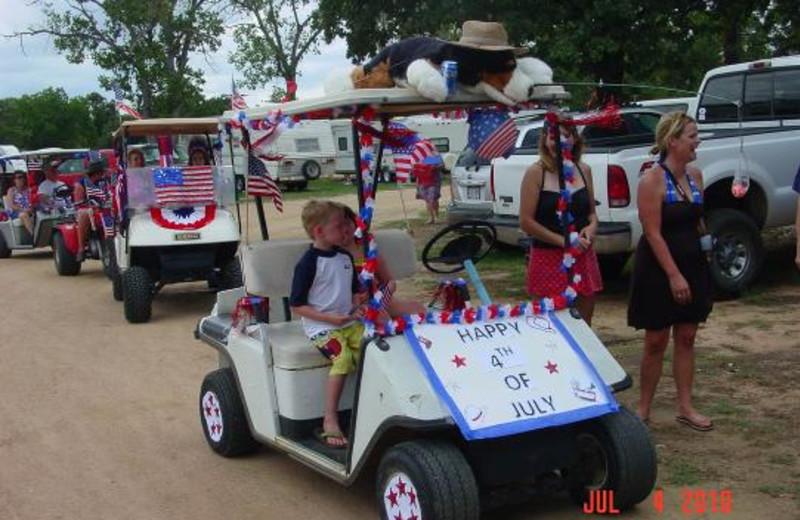 4th of July at Poppy's Pointe Resort.
