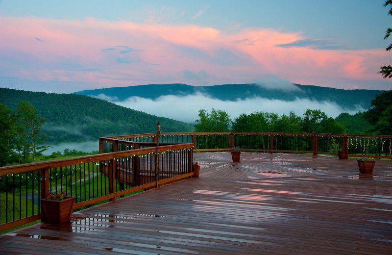 Twilight at Hanah Mountain Resort & Country Club.