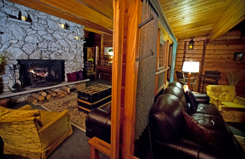 Lounge area at Eldora Lodge.