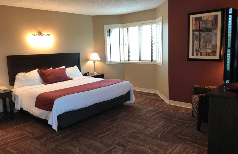 Guest room at Findlay Inn and Conference Center.