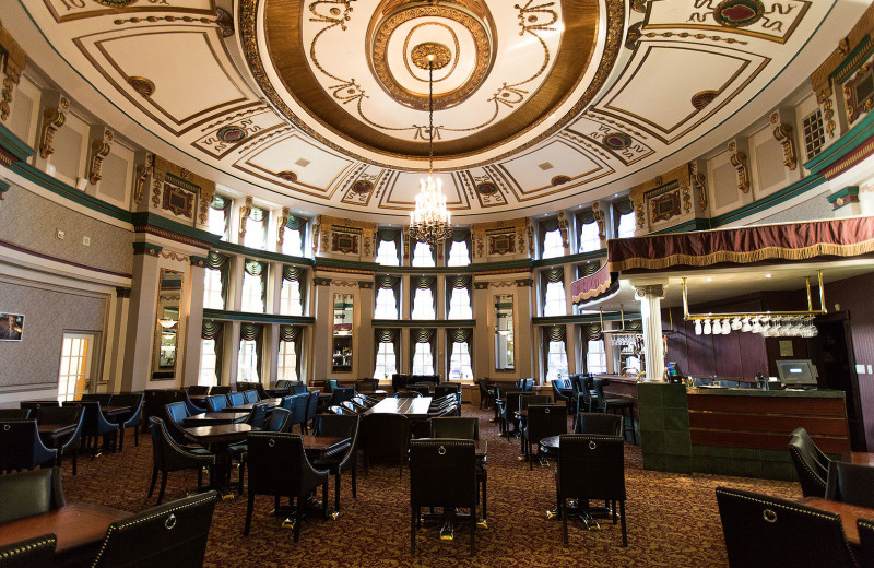 Bar and lounge at The Fort Garry Hotel.