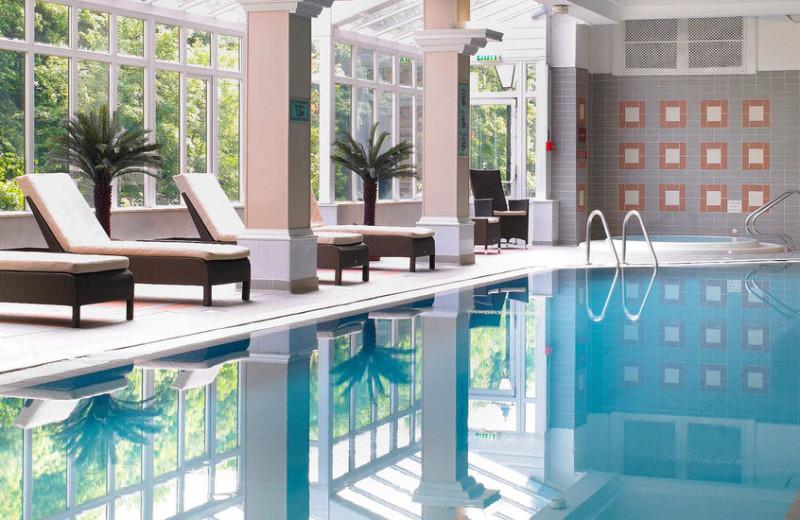 Indoor pool at Swallow Royal County Hotel.