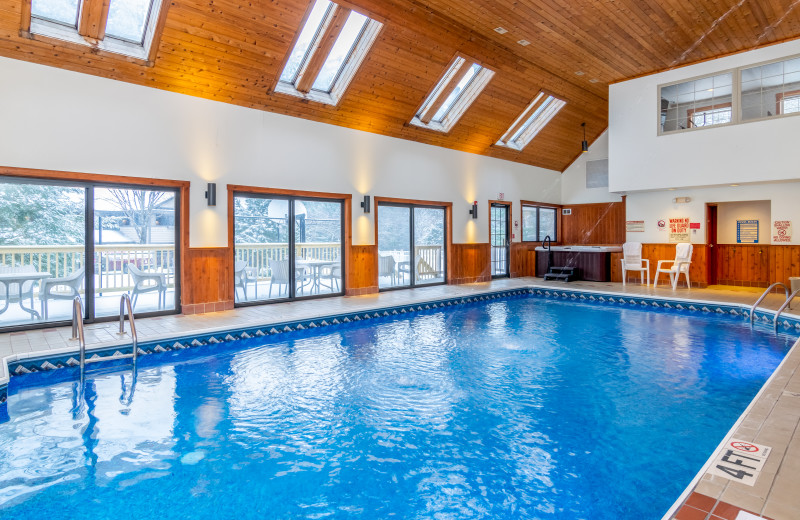 Grey Fox Inn Indoor Pool.