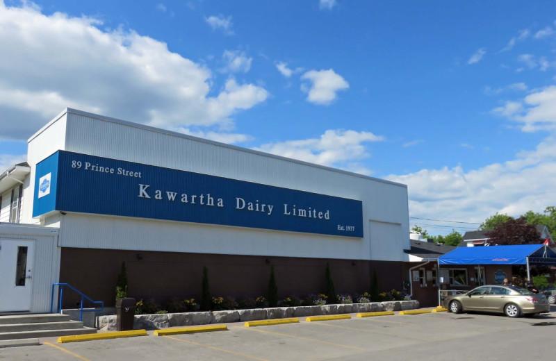 Dairy factory near Eganridge Resort, Country Club & Spa.