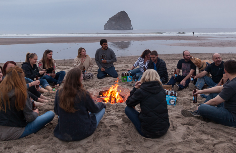 Groups at Inn at Cape Kiwanda.