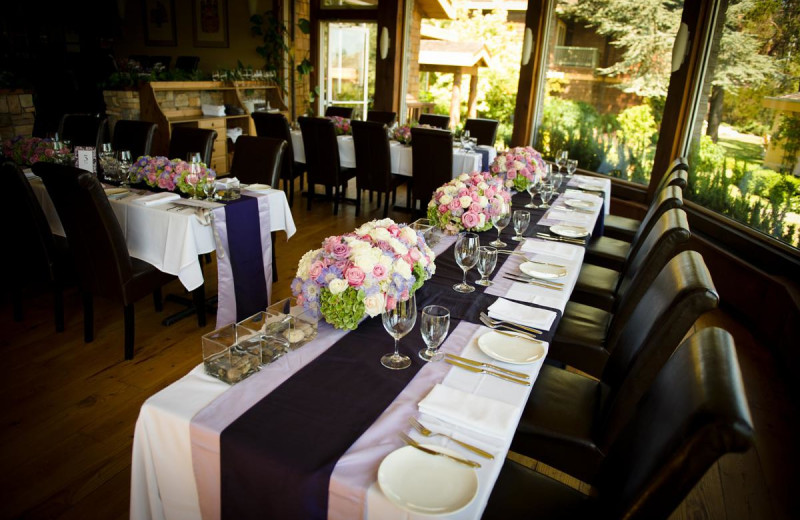 Wedding reception at Galiano Oceanfront Inn and Spa.