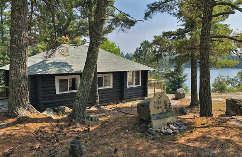 Cabin at Voyageur Park Lodge.