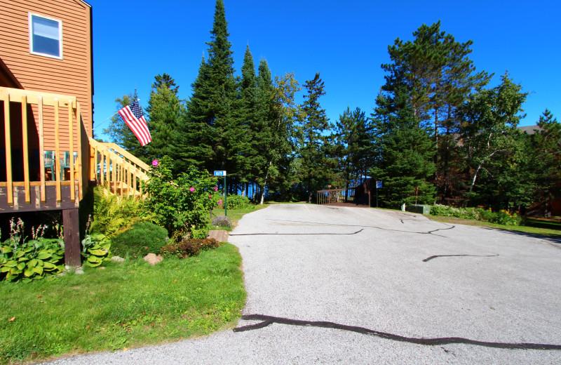 Exterior view of Superior Shores Resort.