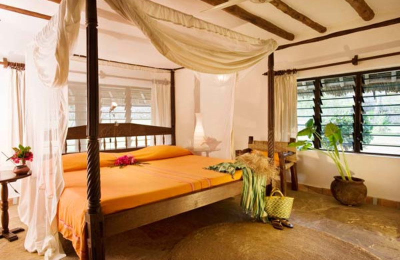 Guest room at Diani Marine Divers Village.