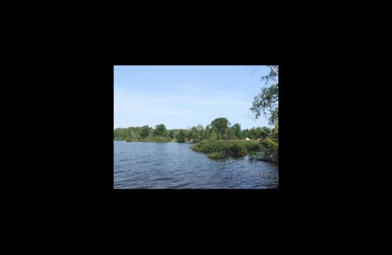 Lake view at Hermans Landing.