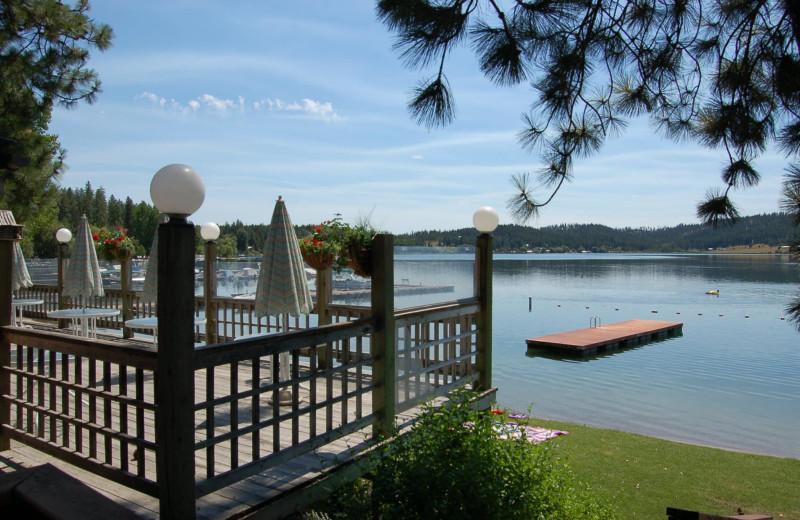 Lake view at Silver Beach Resort.