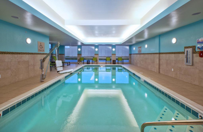 Indoor pool at SpringHill Suites - Benton Harbor.