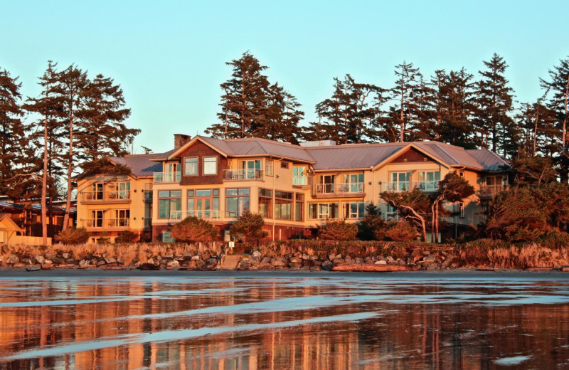 Exterior view of Long Beach Lodge Resort.