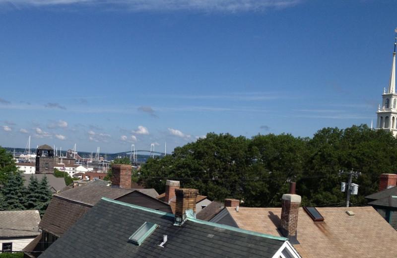 View from Mill Street Inn.