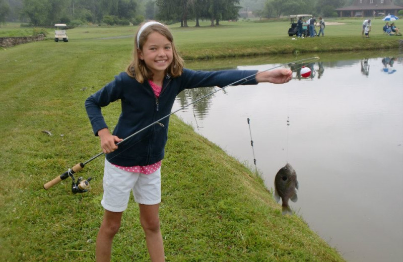 Fishing at Etowah Valley Country Club & Golf Lodge