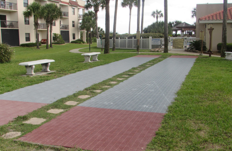Rental grounds at Saint Augustine Beach Vacation Rentals.