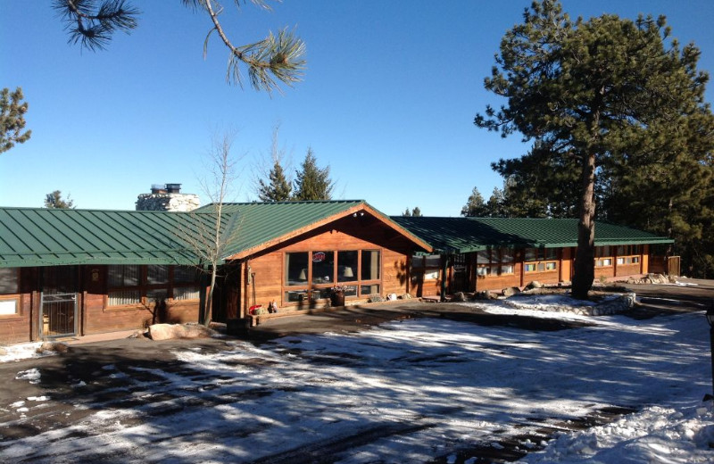 Exterior view of Eldora Lodge.