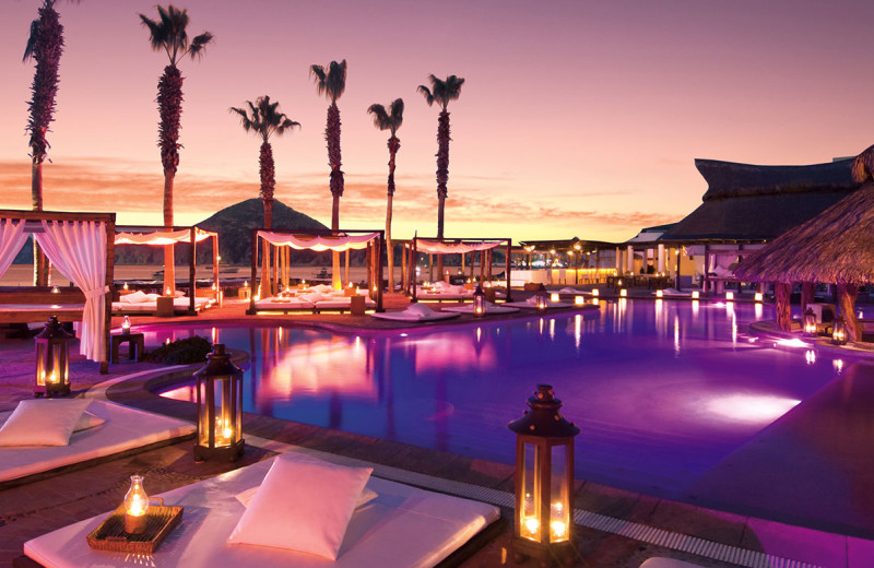 Outdoor pool at ME CABO.
