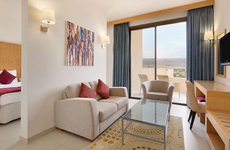 Guest Room at Ramada Resort Dead Sea
