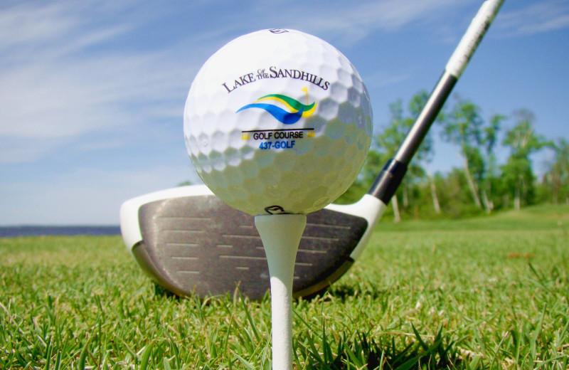 Golf at Buffalo Point Resort.