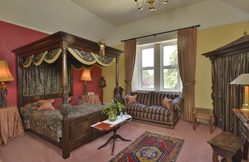 Guest room at Stock Hill Country House Hotel.