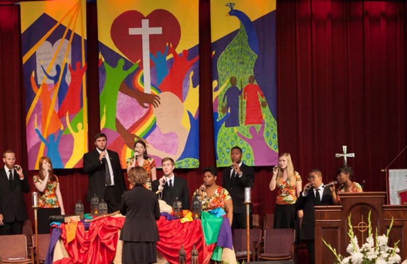 Singers at Terrace Hotel Lake Junaluska.