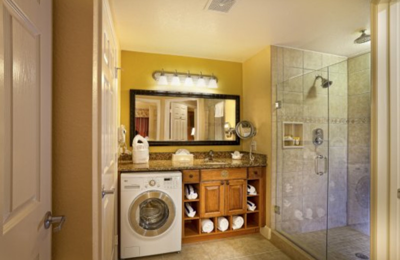Guest bathroom at Westgate Town Center.