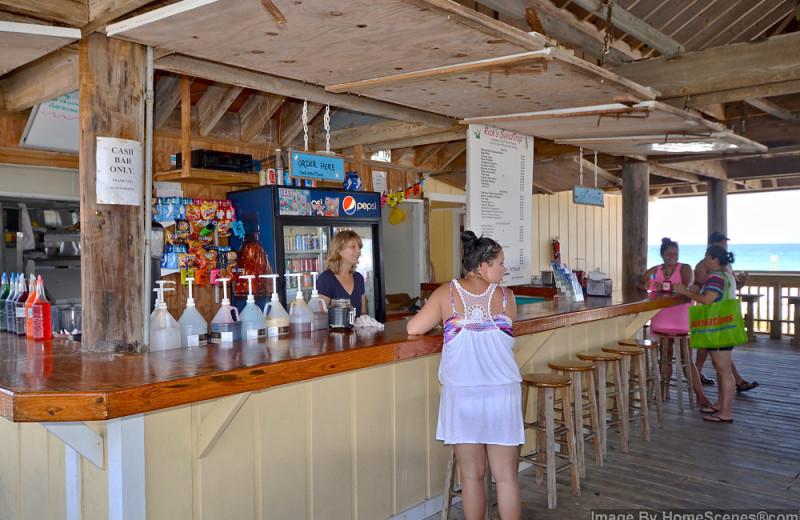 Bar view at Sandpiper Cove.