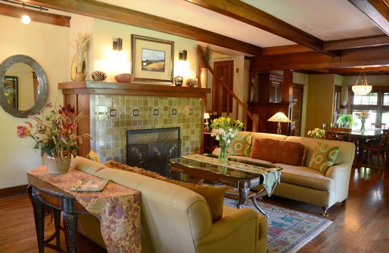 Interior view of Lara House Bed & Breakfast.
